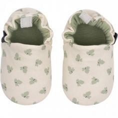 Chaussons en coton Les Lapins (6-12 mois)