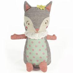 Peluche écureuil gris (23 cm)