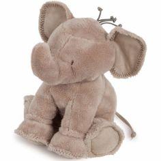 Peluche Ferdinand l'éléphant taupe (25 cm)