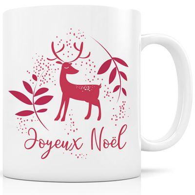 Mug céramique Renne rouge (330 ml)  par Signature Label Tour