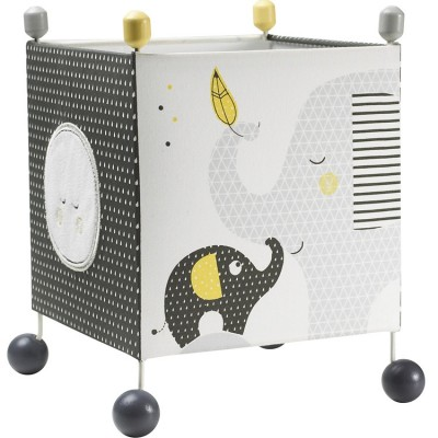 Lampe cube à poser Babyfan  par Sauthon Baby Déco