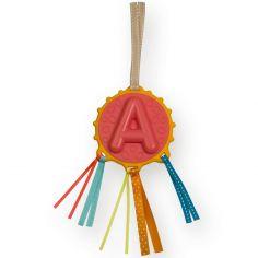 Hochet alphabet à suspendre Lettre A (23 cm)