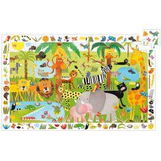 Puzzle d'observation Jungle (35 pièces)
