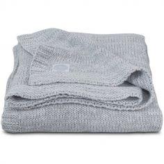 Couverture Melange knit grise (100 x 150 cm)