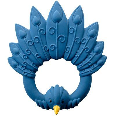 Anneau de dentition Paon bleu  par Natruba