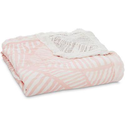 Couverture de rêve Dream Blanket Silky Soft Island Getaway (120 x 120 cm) aden + anais