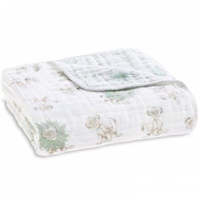 Couverture de rêve Dream Blanket Le roi lion (120 x 120 cm) aden + anais