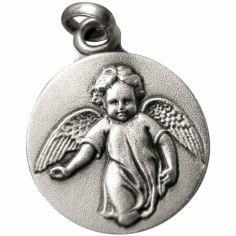 Médaille Ange marchant (argent 925°)