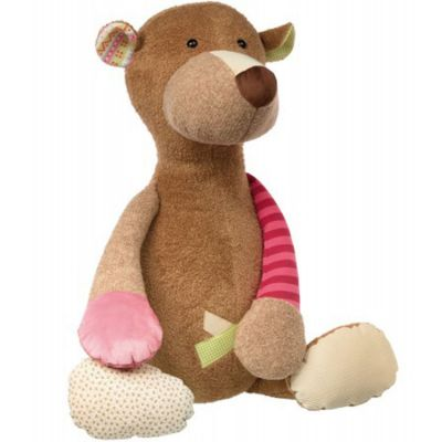 Peluche ours Patchwork Sweety (80 cm) Sigikid