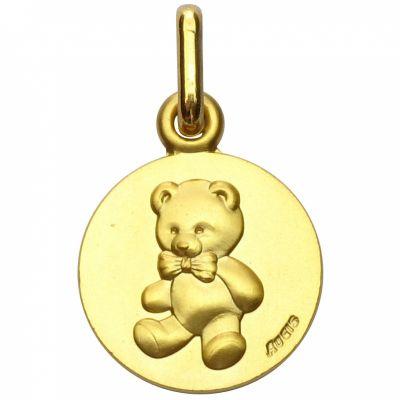 Médaille ours Les Loupiots (or jaune 750°) A.Augis