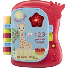 Livre musical et lumineux Sophie la girafe Fresh Touch  par Sophie la girafe