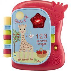 Livre musical et lumineux Sophie la girafe Fresh Touch