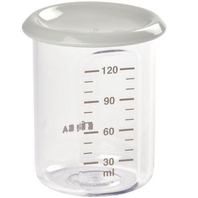 Pot de conservation en tritan Baby portion gris (120 ml)  par Béaba
