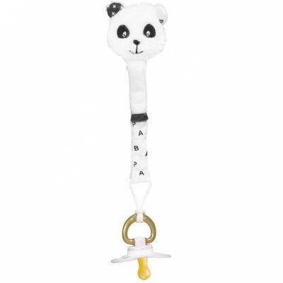 Attache sucette panda Chao Chao  par Sauthon