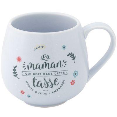 Mug La maman qui boit dans cette tasse mérite que je l'embrasse