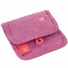 Mini porte-monnaie About Friends chiné rose