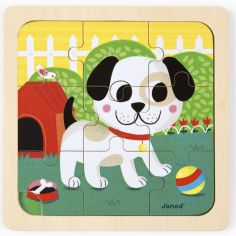 Puzzle chien Titus (9 pièces)