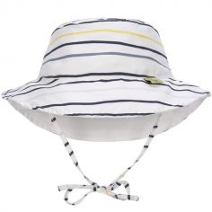 Chapeau anti-UV réversible Splash & Fun Marin bleu (18-36 mois)