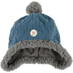 Bonnet polaire Hatter Empire bleu (3-6 mois)