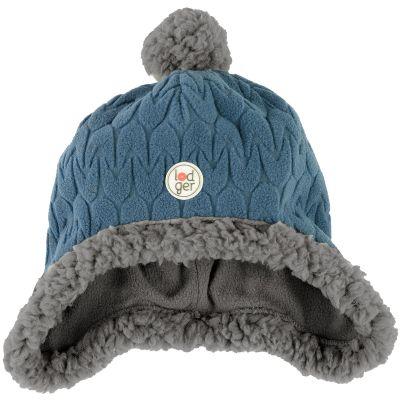 Bonnet polaire Hatter Empire bleu (3-6 mois)  par Lodger