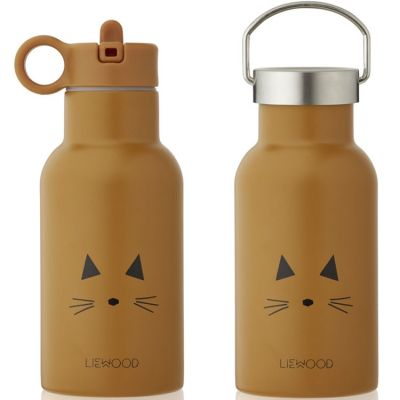 Gourde isotherme Anker Chat mustard (350 ml)  par Liewood