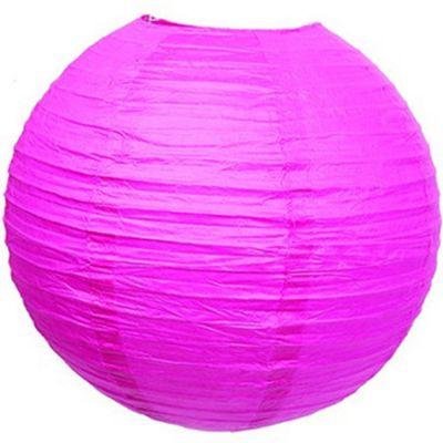 Boule japonaise fuchsia  par Arty Fêtes Factory
