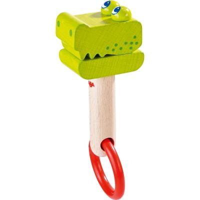 Hochet Crocodile Clap-clap  par Haba