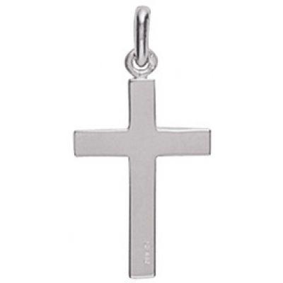 Croix unie 22 x 15 mm (or blanc 750°)  par A.Augis