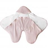 Couverture nomade Pink Bows (0-6 mois) - Les Rêves d'Anaïs