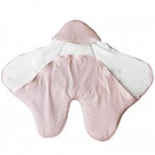 Couverture nomade Pink Bows (0-6 mois)  par Les Rêves d'Anaïs