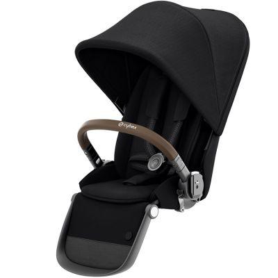 Assise supplémentaire Deep Black pour châssis Gazelle S bronze  par Cybex