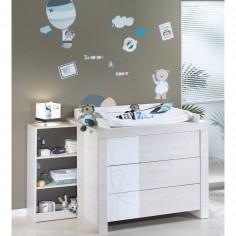 Stickers muraux chambre bb et enfant berceau magique - Lazare et oscar ...