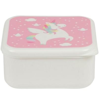 Boîte à goûter Betty la licorne arc-en-ciel  par sass & belle