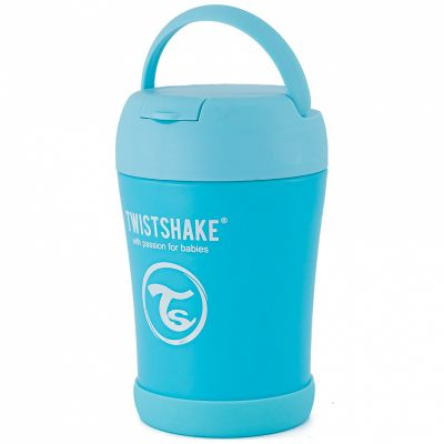 Thermos alimentaire bleu pastel (350 ml)  par Twistshake