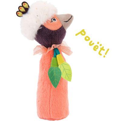Hochet pouët Paloma l'oiseau Dans la Jungle (17 cm)