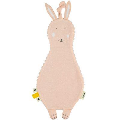 Doudou plat velours lapin Mrs. Rabbit  par Trixie