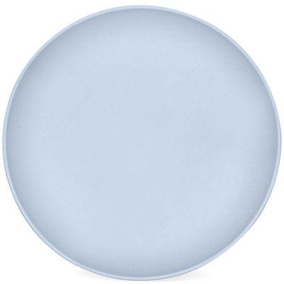Assiette plate en maïs bleu Myosotis  par Signature Label Tour