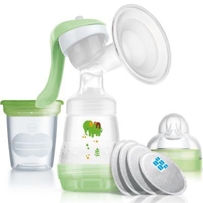 Tire-lait manuel vert + accessoires  par MAM