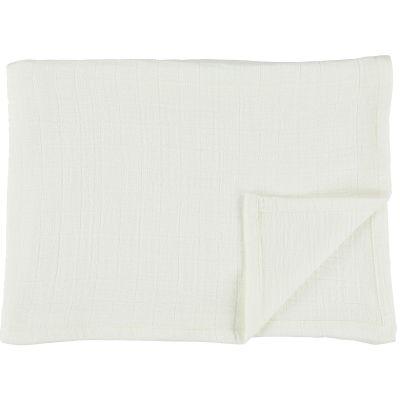 Lot de 3 langes en mousseline de coton Bliss White (55 x 55 cm)  par Trixie