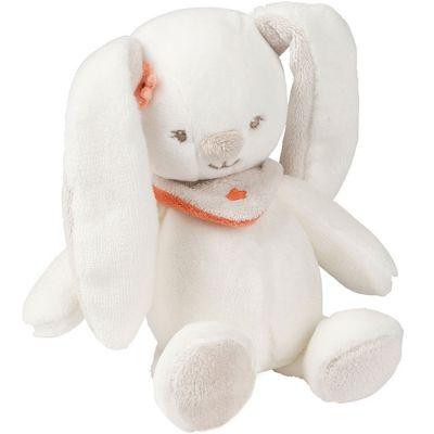Mini peluche Mia le lapin (17 cm)  par Nattou