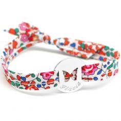 Bracelet Liberty papillon (argent 925°)