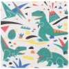 Lot de 20 serviettes en papier dinosaure Jurassic Park - My Little Day
