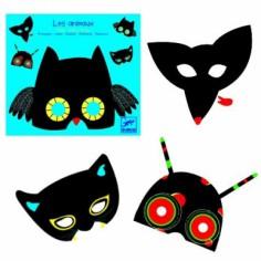 Pack de 4 masques animaux