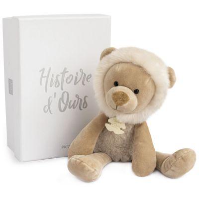 Coffret peluche Lion Sweety chou Copains câlins (30 cm)  par Histoire d'Ours