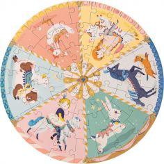 Puzzle Manège Les Parisiennes (45 pièces)