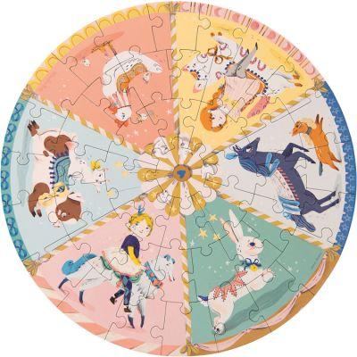 Puzzle Manège Les Parisiennes (45 pièces)  par Moulin Roty