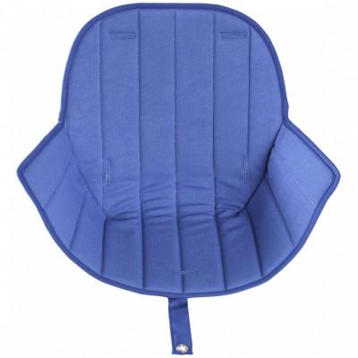Assise tissu chaise haute Ovo Luxe bleu  par Micuna