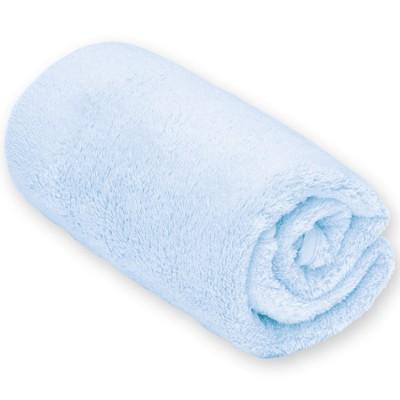 couverture bébé polyester Couverture bébé en polyester bleu clair Bmini (75 x 100 cm) couverture bébé polyester
