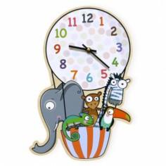 Horloge en ballon
