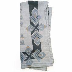 Lange en bambou et coton Everest Feathers (80 x 80 cm)